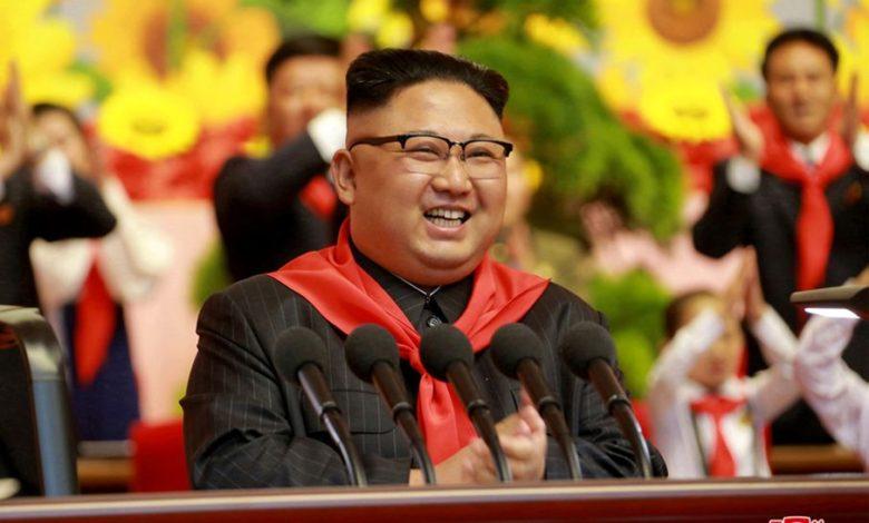 Verehrter Genosse Kim Jong Un, gütiger Vater der Kinder